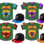 Heroes in a Half-Shell! @FresnoGrizzlies will wear these TMNT jerseys in August. » http://t.co/mdd5i9L8me
