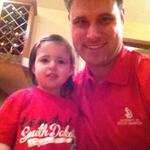 Dad & daughter wearing #GoYotes gear to work/daycare. @USDCoyoteNation @SDCoyotes http://t.co/mMljJVTEZl