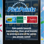 RT @BirthdayFreebie: Free iOS app! Check out PickPointz and win points towards merchandise during #MarchMadness https://t.co/EEHxyFqXZU http://t.co/kL482o7nhF