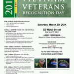 3/29/2014 #Vietnam #Veterans Recognition Day #NYC Welcome Home, Wreath Laying, #HonortheFallen & more @UnitedWarVets http://t.co/6uGQGrcron