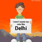 I won't waste my vote like Delhi... #AAPwedsAajTak http://t.co/MMKKqt8i3X