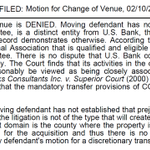 For you legal nerds, heres the tentative ruling on #arena eminent domain change of venue lawsuit. #NBAKings #News10 http://t.co/3IFEbSO7JE