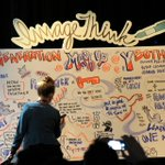 Here's the illustrated view of @PeteCashmore's #SXSW2014 panel on millennials. #MashSXSW