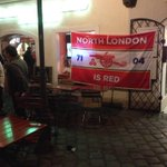 RT @JanAageFjortoft: Arsenal - fans can be seen and heard in the streets of Munich. #AFC http://t.co/hZ7apfVoYQ