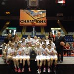 Here are the #MAAC14 champs, the @Marist #RedFoxes, with their #MAAChoops trophy. http://t.co/NPlLefsi9Z