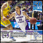 RT @BigSkyConf: #BigSkyMBB 2013-14 Freshman of the Year - @weberstates Jeremy Senglin #WeberState #WeAreWeber: http://t.co/Q6Bvb2lopL
