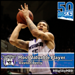#BigSkyMBB 2013-14 Most Valuable Player - @weberstates Davion Berry #WeberState #WeAreWeber: http://t.co/5FUQgit7jc