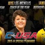.@southernmisswbb win @Conference_USA Coach, Defensive & Newcomer of the Year Awards! http://t.co/kSoKMN4mH2 #SMTTT http://t.co/rcUH3MfAWR
