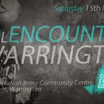 RT @WarringtonYFC: @D2Lencounter Warrington. 15/03/2014. 7pm! Make sure you get there, Warrington Salvation Army WA1 2BQ. Pls RT. http://t.co/yVnJxoDB1n