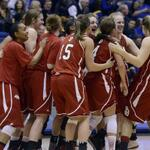 Photo gallery: USD women beat SDSU for spot in #SummitTourney championship game http://t.co/DuZWdQ2lR0 http://t.co/YCZLj0pVJD