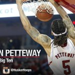 Congrats Terran Petteway on First Team All-Big Ten! #GBR #Huskers http://t.co/RZ37D9QMUv