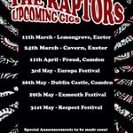 Gigs coming up in #exeter #london #devon #exmouth http://t.co/ZueYRD4zxn
