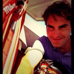 RT @rogerfederer: After the match #selfie http://t.co/S0NB2qdwpa