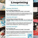 RT @LinoLovers: Calling Arty Yorkshire folks! Workshop dates for your diary! #yorkshire #art #daysout #printmaking #bizhour http://t.co/wQaNGVFF6W