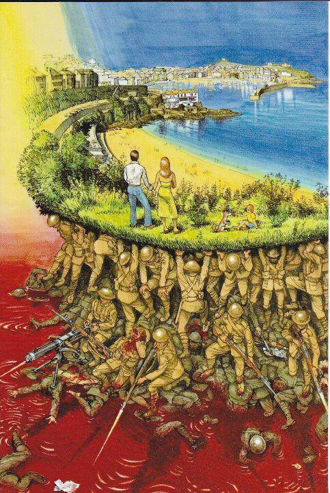 Bastığın yerleri 'toprak' diyerek geçme, tanı! Düşün altındaki binlerce kefensiz yatanı.  #18MartŞehitleriÖlümsüzdür. http://t.co/qiAUthyU6E