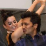 And the Best Actor (female) goes to - Kangna Ranaut - for all the awards next year - (pic-dancing with the Queen) http://t.co/On8erimecI