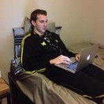 RT @SpikeAlbrecht: POY during the day, Student by night! #LeadersandtheBest hahaha @NStauskas11 http://t.co/bioCA6nVBT