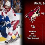 RT @phoenixcoyotes: Smith comes up big in OT & the SO, Boedker & Erat scored clutch goals and #Coyotes win in TB: http://t.co/MC5zTVAFdt http://t.co/eFCaIV6Cep