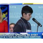 "Hahahaha. FOX News misspelled ""spelling bee"" - http://t.co/o0tChWHiX5"