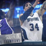 Wofford, put on your dancing shoes! Terriers top Western Carolina, 56-53; win @SoConSports for 3rd time in 5 years! http://t.co/mbSJE4wcma
