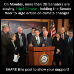 28 Senators are staying #Up4Climate today! RT if you'll stay up with them http://t.co/guT27WcKmQ #ActOnClimate http://t.co/8WELucIMHZ