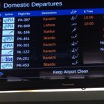 Heavy rain in #Islamabad causing delay and cancellation of flights. #Pakistan #Karachi #Lahore http://t.co/P5PJSMSllm