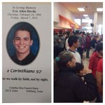 RT @ryanwolf: Standing room only at Peter Piper Pizza in #Edinburg to support the late Eric Davilas family #rgv #kgbt RIP. http://t.co/dZlJ7er9cO