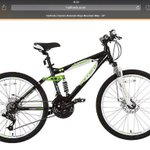 My lil lads bike stolen from INCE Wigan he is a gutted 9 yr old please share n try help us get it back xxx http://t.co/g7D3SiR5Wr