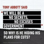 RT @sheree_drylie: Once again @TonyAbbottMHR is hiding the cuts until after the WA election #MarchInMarch @MarchinMarchAus #auspoI http://t.co/dgMspgG6iV
