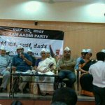 RT @manutoms: #aap introduces their candidates in Karnataka at a press conference in Bangalore @htTweets http://t.co/LfiIFF5UYn