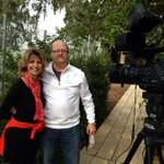 Shooting a VBS spot with  @macbrunson overlooking the Sea of Galilee at the Mountain of Beatitudes. http://t.co/9P8CfCZGrL
