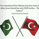 """#Pakistan has only one brother - That is #Turkey."" #PakTurkBrotherhood http://t.co/Emm8EMliq3"