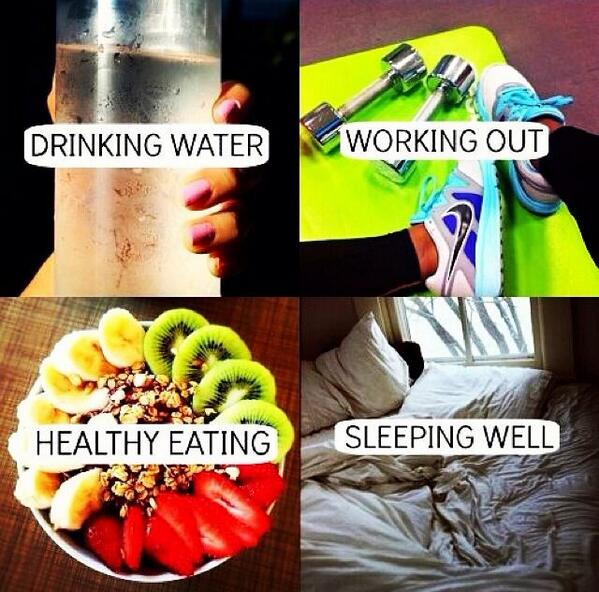 The recipe for a healthy lifestyle... http://t.co/WkQ0o88Wxk