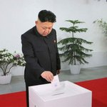 "RT @jgandhi08: Haha! North Korea's Modi wins ""election""! RT @dna: Kim Jong-un wins election with 100% votes http://t.co/0Apjp1BNzq http://t.co/b9JmzrNz0c"