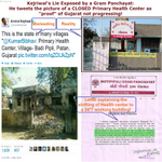 RT @KiranKS: Arvind Kejriwals misleading tweet about a Gujarat health center exposed by local panchayat. http://t.co/Q8WuRCAzAv - http://t.co/wtm8J9FGyG