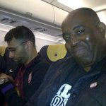 RT @arsenalfantv: About to take off for Munich. Seated besides @ArsenalMoh8 #Wegonnadothis #ArsenaI http://t.co/6nHQOvldVN
