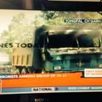 RT @ShivAroor: Truck still on fire at Naxal ambush site, Tongpal, Chattisgarh. | http://t.co/eOf42hcy54