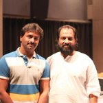 RT @gauravnarayanan: After a long gap, Legend Jesudoss sir sang a super song for sigaramthodu. Blessed to be with him.