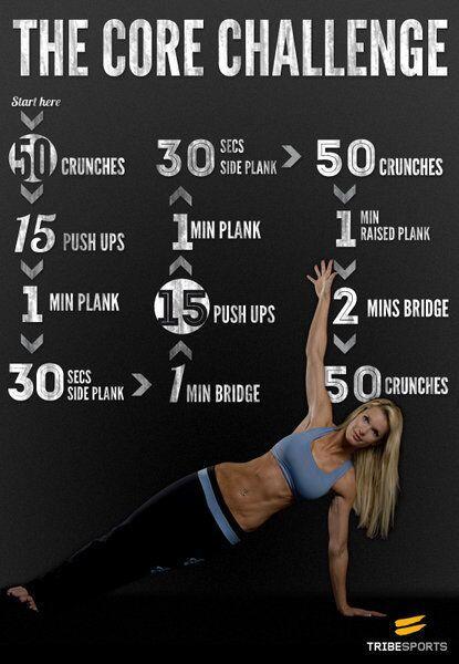 ¿Dispones de menos de media hora para entrenar hoy? ¡Prueba con esta rutina para el core! http://t.co/3kU8SdkFKz