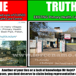 #NautankiAK continues to spread lies about Gujarat by sharing pictures of closed primary health centers. http://t.co/Ar7hkRCt8G