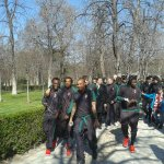 Waiting for #AtletiMilan, the team is taking a walk in the beautiful sunny Madrid! #twitterfairplay http://t.co/sf441BgBJ6