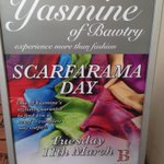 RT @BawtryFashWk: Visit @YasmineofBawtry today for their Scarfarama Day fantastic range of scarves 1 for £12.99 or 2 for £25 #BFW http://t.co/kOzQEg0e4z