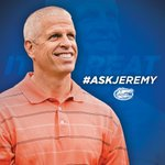 Got a question for #Gators AD Jeremy Foley? You can ask him today at 2:30 pm. Use the hashtag #AskJeremy http://t.co/3RriXDJpzL