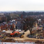 New housing going up in #Doncaster town centre as CCQ regeneration project continues #investinDN http://t.co/lQI4RMMi5n