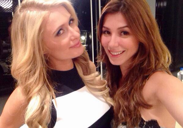 #selfie with @parishilton at today's shoot http://t.co/lsKZOqz8o2