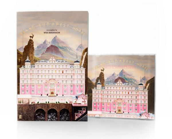 We've got another competition! RT to win the delightful soundtrack & screenplay for #TheGrandBudapestHotel (UK only) http://t.co/Iqa9RV2t86