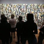 Refurbished Pollock masterpiece unveiled at Los Angeles Getty http://t.co/jcrlsUjsC3 http://t.co/DWxJgkLclD