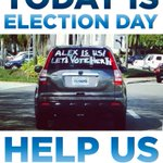 ITS ELECTION DAY! Help us make calls for @AlexSinkFlorida here: http://t.co/H0u6EBf6Hu #sayfie #pfla #FL13 http://t.co/nKwlOPijmx