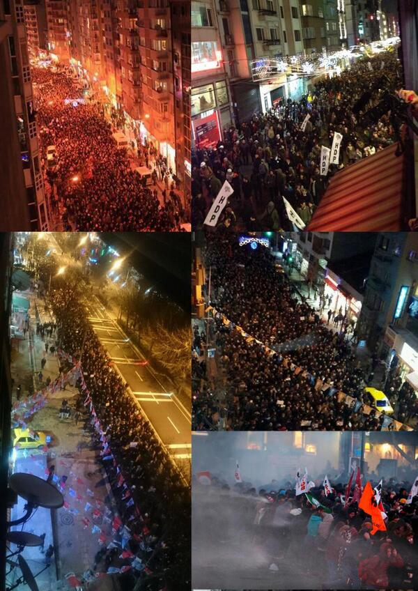 Protests all over #Turkey Demand Justice in the Memory of 15yr old #BerkinElvan http://t.co/5MKQyC3rR6 #Berkin http://t.co/qcsJr2o4PO