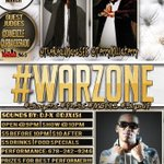 #Atlanta come out to #WarZone tomorrow night. @ZuluFaz will be in full effect performing live. http://t.co/Y0Br0uSmD3